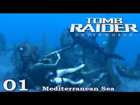 [HD] Tomb Raider Underworld Walkthrough Part 1 - Mediterranean Sea - ITA (PS3)