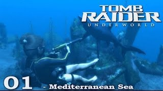 [HD] Tomb Raider Underworld Walkthrough Part 1 - Mediterranean Sea - ITA (PS3)