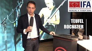 IFA 2015: Teufel Rockster Riesen-Bluetooth-Lautsprecher | Allround-PC.com