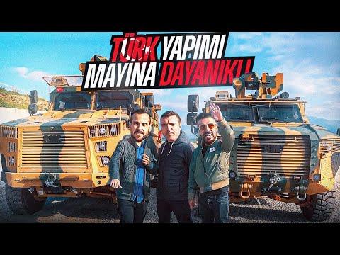 Türk Yapımı Mayına Dayanıklı | Zırhlı Askeri Araç Kullandık