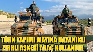 Driven: Turkish made mine resistant armored military car