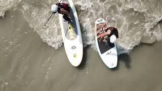 リバーSUPサーフィン2019 静岡富士川サップ フレンズ Friends river SUP《短編動画SSM9-2》
