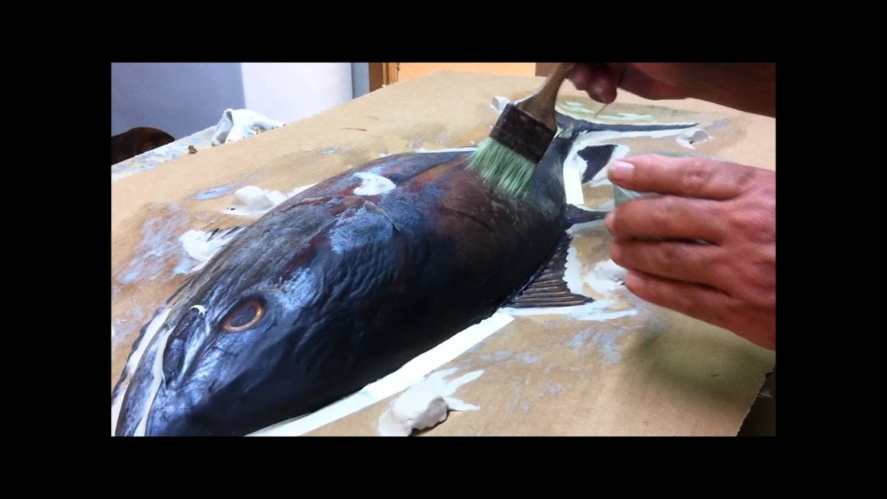 Brown 39 s taxidermy and the fish mount shop doovi for How to taxidermy a fish