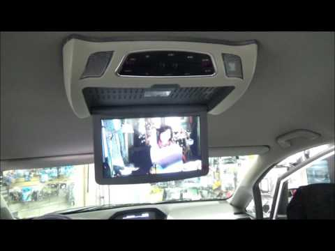 Honda odyssey Flip down DVD | Roof mount DVD player