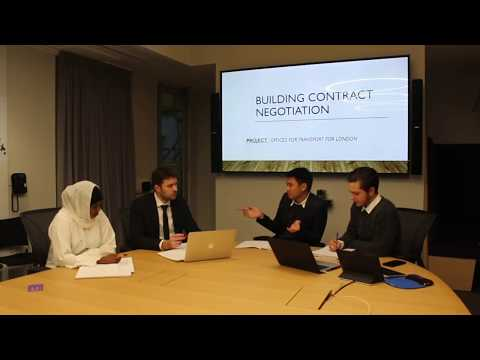 Students Procurement Negotiation - Westminster Business School
