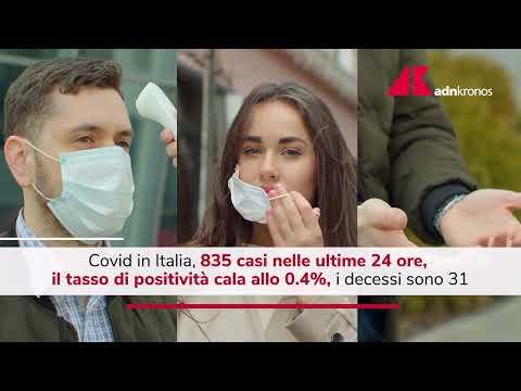 Covid Italia, 835 contagi: giù i ricoveri