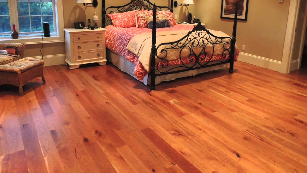 North american cherry hardwood flooring youtube for North wood flooring