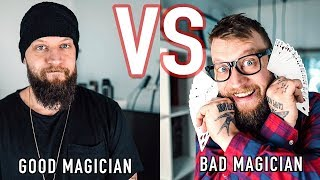 GOOD Magician VS BAD Magician
