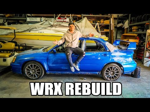 Update on my wrecked Subaru WRX rebuild!