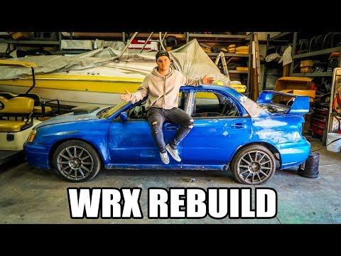 Update on my wrecked Subaru WRX rebuild!