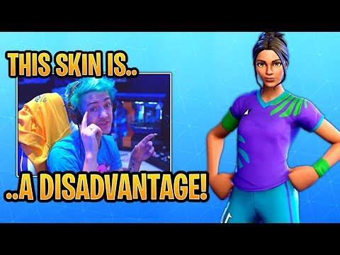 Ninja on Why the Soccer Skins are a DISADVANTAGE in Fortnite! - Fortnite Best and Funny Moments