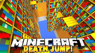 Minecraft - DEATH JUMP PARKOUR! - w/Preston & Nooch