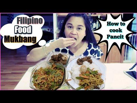 MUKBANG & How To Cook Pancit : MaryAnn.A RealityTV