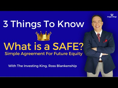 SAFE Financing Docs: SAFE & Convertible Notes Explained - AngelKings.com