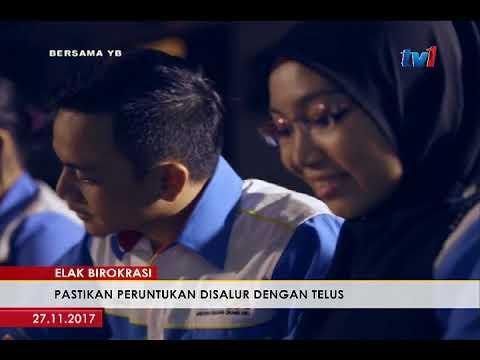 BERSAMA YB: DATUK SERI ABDUL MANAN ISMAIL, AHLI PARLIMEN PAYA BESAR [27 NOV 2017]