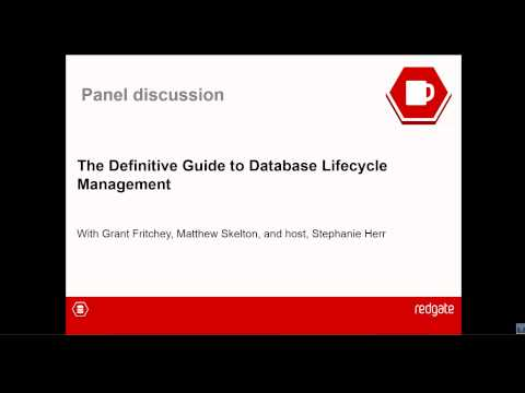 Webinar: The Definitive Guide to Database Lifecycle Management