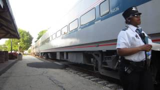 2 Cool Conductors on Amtrak 142 South Dwight, IL 5/19/12