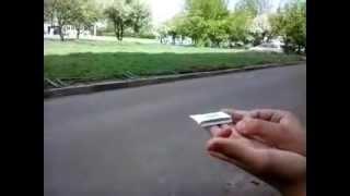 как сделать из пачки сигарет верталётик