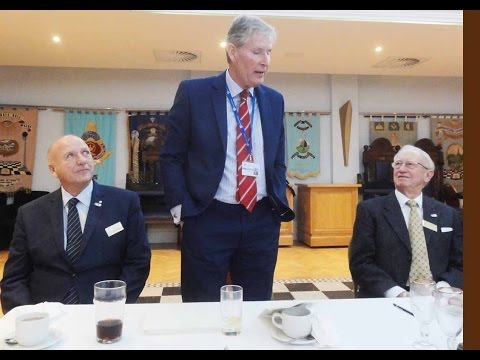Rotary Speaker Mr Ian Davies Headmaster Brentwood School 19 Jan 2017