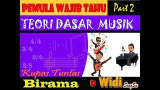 Pemula Wajib Tahu ll Teori Dasar Musik (Part 2)