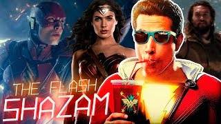 THE FLASH Iris West, WONDER WOMAN 2 Rodaje, AQUAMAN Nueva Armadura, SHAZAM Primer Vistazo y MÁS!
