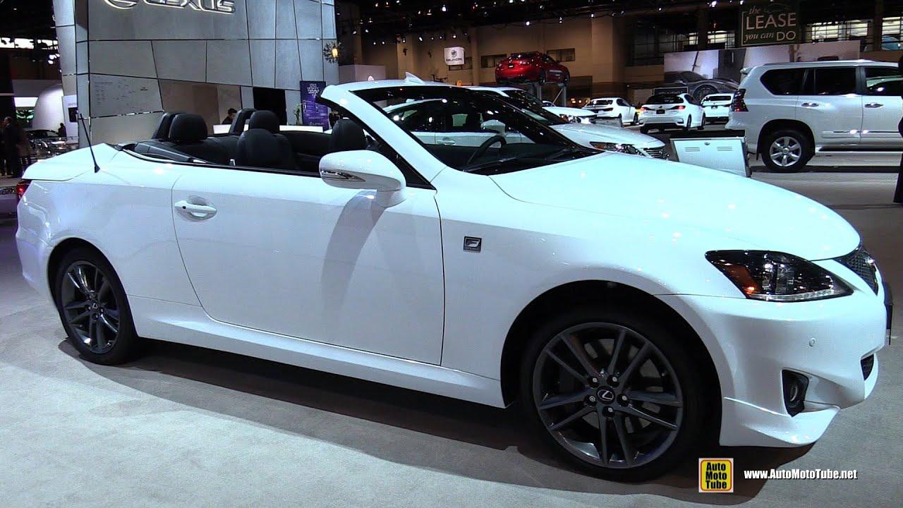 Lexus f sport convertible