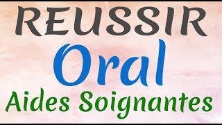Réussir son oral aide soignante gratuit préparation au concours aide soignante