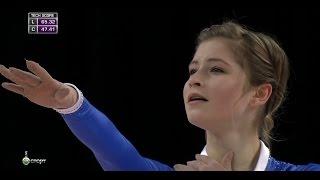 Yulia Lipnitskaya Free Skating ISU 2015 Grand Prix Progressive Skat...