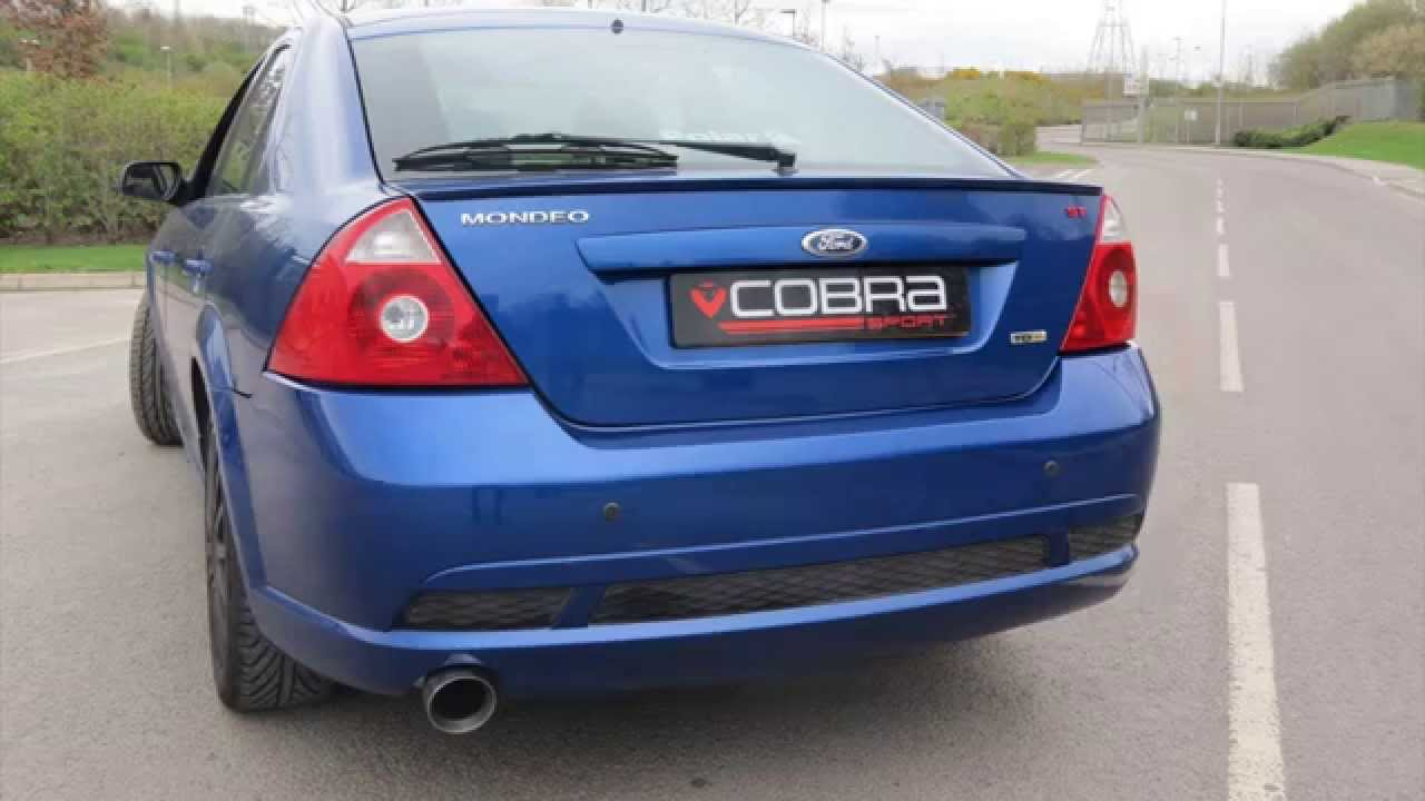 ford mondeo st performance exhaust by cobra sport exhausts. Black Bedroom Furniture Sets. Home Design Ideas