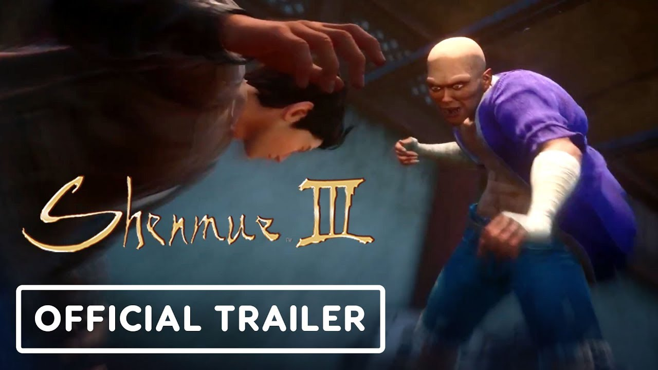 Shenmue 3 - Offizieller Fighting & Mini Games Trailer - Gamescom 2019 + video