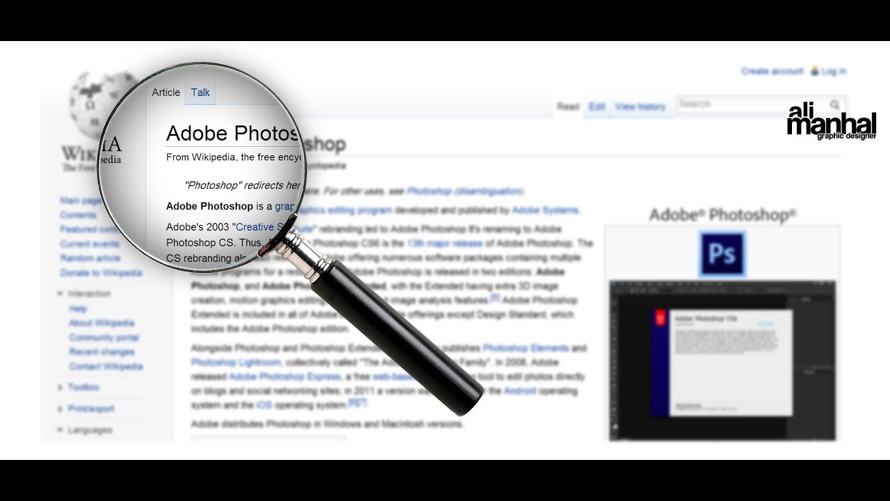 How to Make a Magnifying Glass Effect In Photoshop