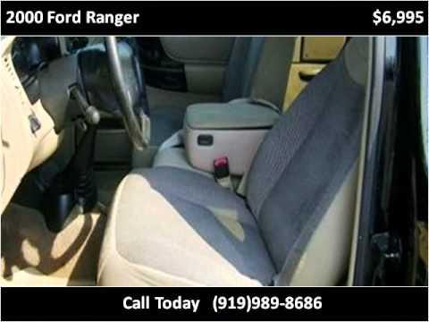 2000 Ford Ranger Used Cars Smithfield Nc Youtube