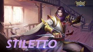 Heroes Evolved: Stiletto Introduction