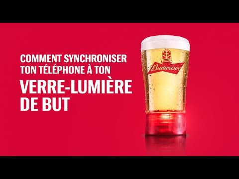 lumiere de but budweiser