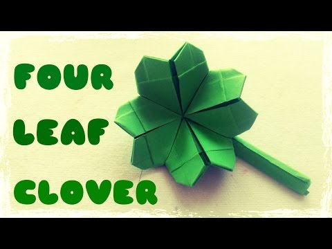 Origami Easy - Origami Four Leaf Clover