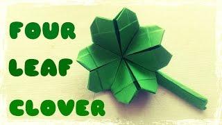 Origami Easy - Origami Four Leaf Clover thumbnail