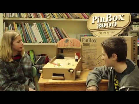 PinBox 3000 at the River Rock School