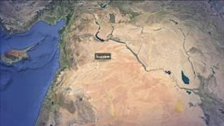 غارة روسية تدمر جسر العشارة بدير الزور