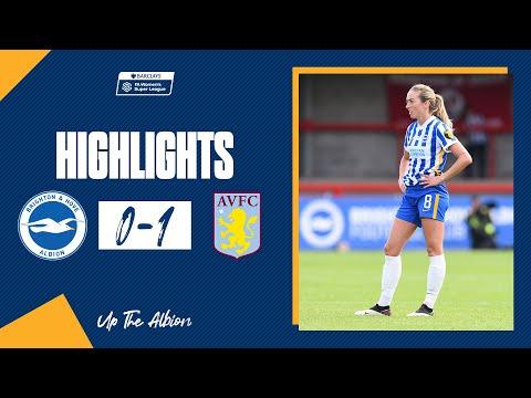 WSL Highlights: Albion 0 Aston Villa 1