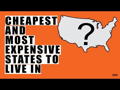 THESE Are the Cheapest and Most Expensive States To Live In! Look At the Huge Difference!