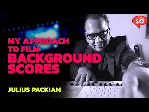 How I approach a background score | Julius Packiam || converSAtions || SudeepAudio.com