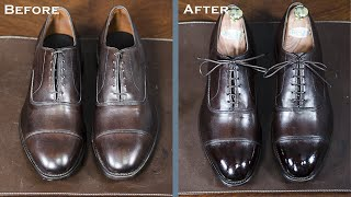 How To Shine A New Pair of Allen Edmonds