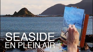 How to paint a scene from life! / Seaside En Plein Air!
