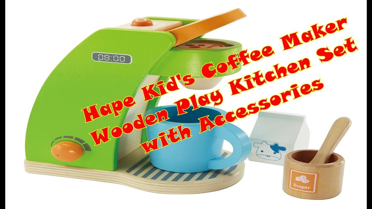 Toy Coffee Maker Machine For Kids Amazon