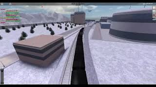 ROBLOX Rails Unlimited SNR Train Crashed at Pinewood