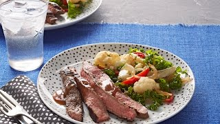 15 Seconds How To Make Marinated Skirt Steak Video