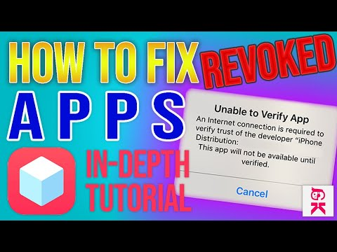 *FIXED 2020* How To Fix Revoked TweakBox Apps (UNABLE TO VERIFY APP FIX)