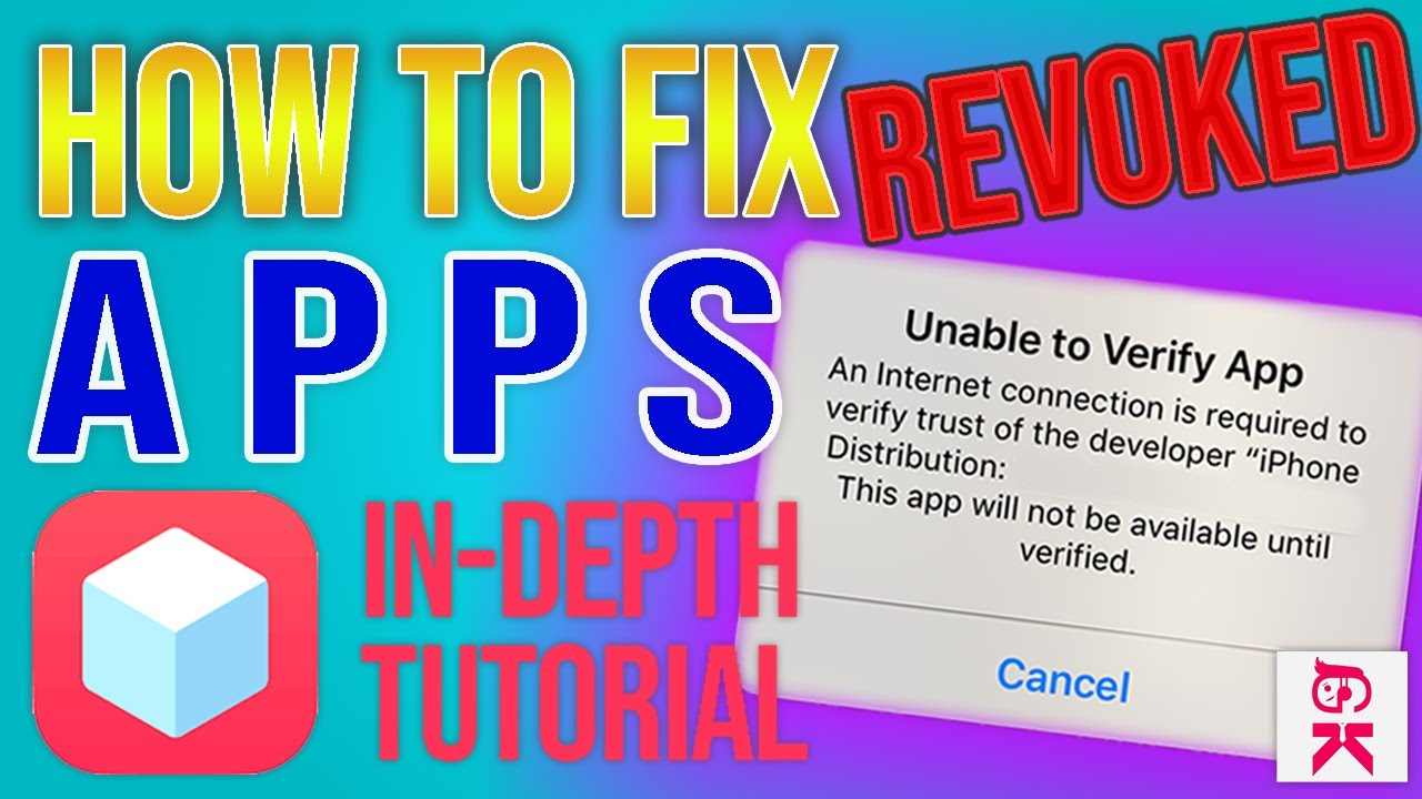 *FIXED 2019* How To Fix Revoked TweakBox Apps (UNABLE TO VERIFY APP FIX)