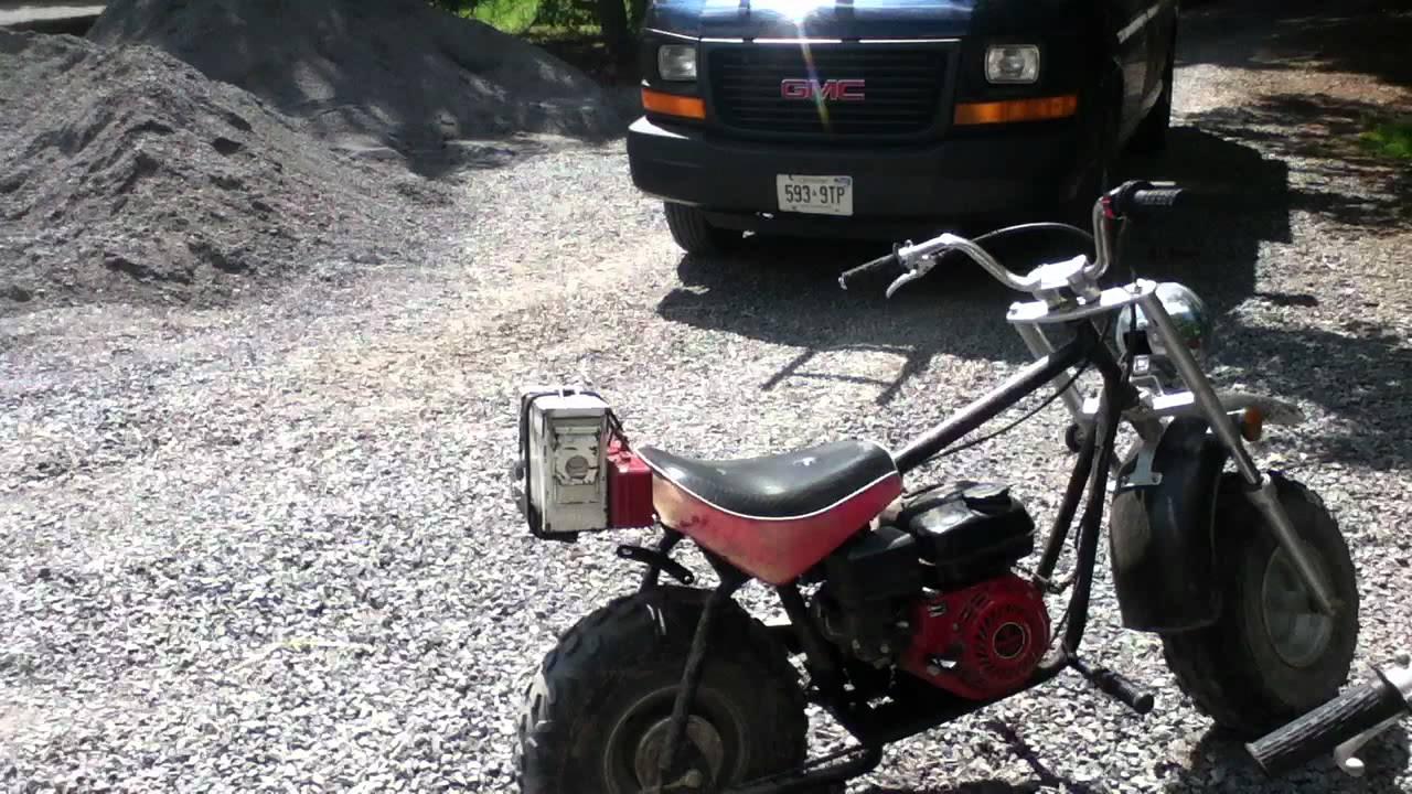 Baja Mini Bike Custom Back Racks
