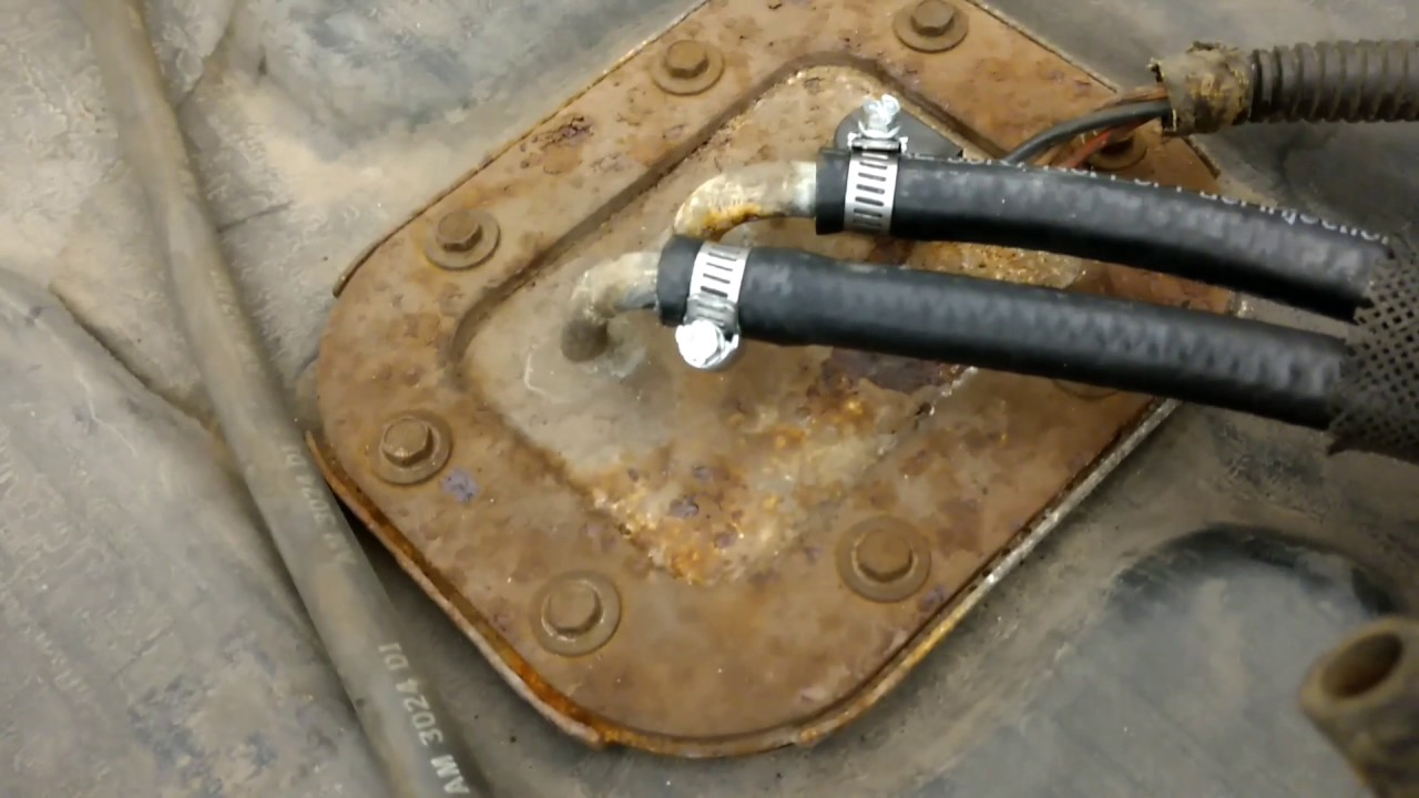 maxresdefault pinched fuel line repair 1991 jeep wrangler yj youtube